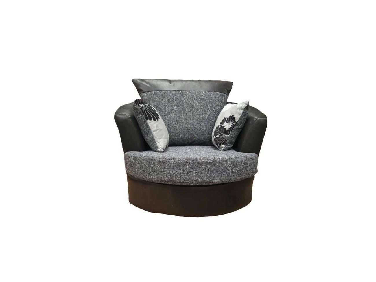 Fantastic Buy Brand New Large Elise Corner Sofa In Black Grey Bralicious Painted Fabric Chair Ideas Braliciousco