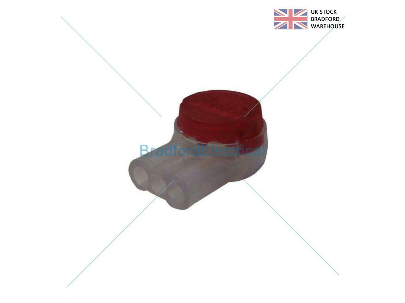 100 X 2 WIRE TELEPHONE JELLY CRIMPS 8A TELECOM CONNECTOR As Used by BT Virgin