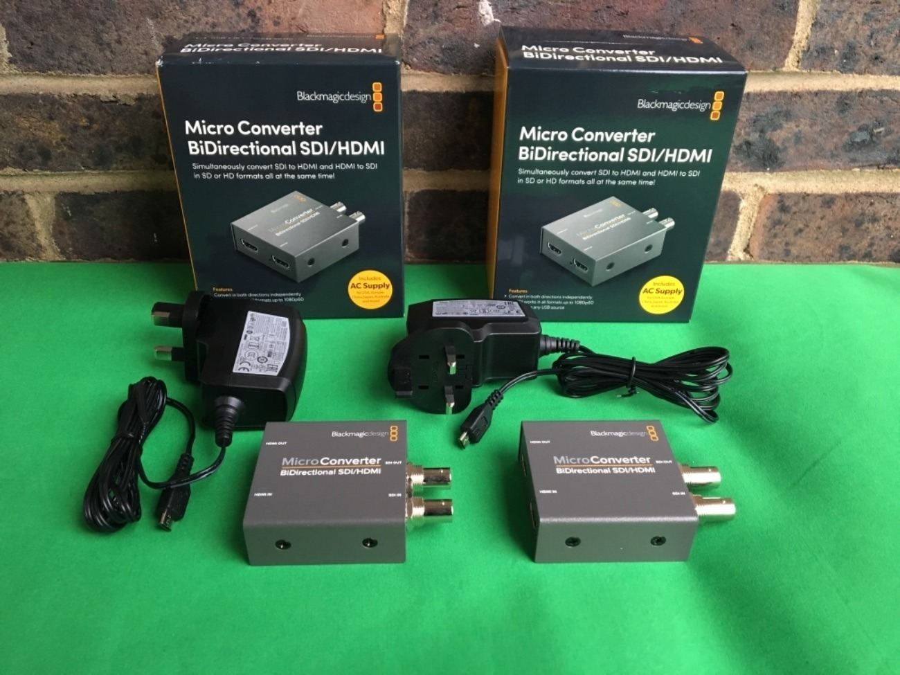 Rent 2x Blackmagic Design Micro Converter Bidirectional Hdmi Sdi For Atem Mini In Croydon Rent For 16 00 Day 14 00 Week