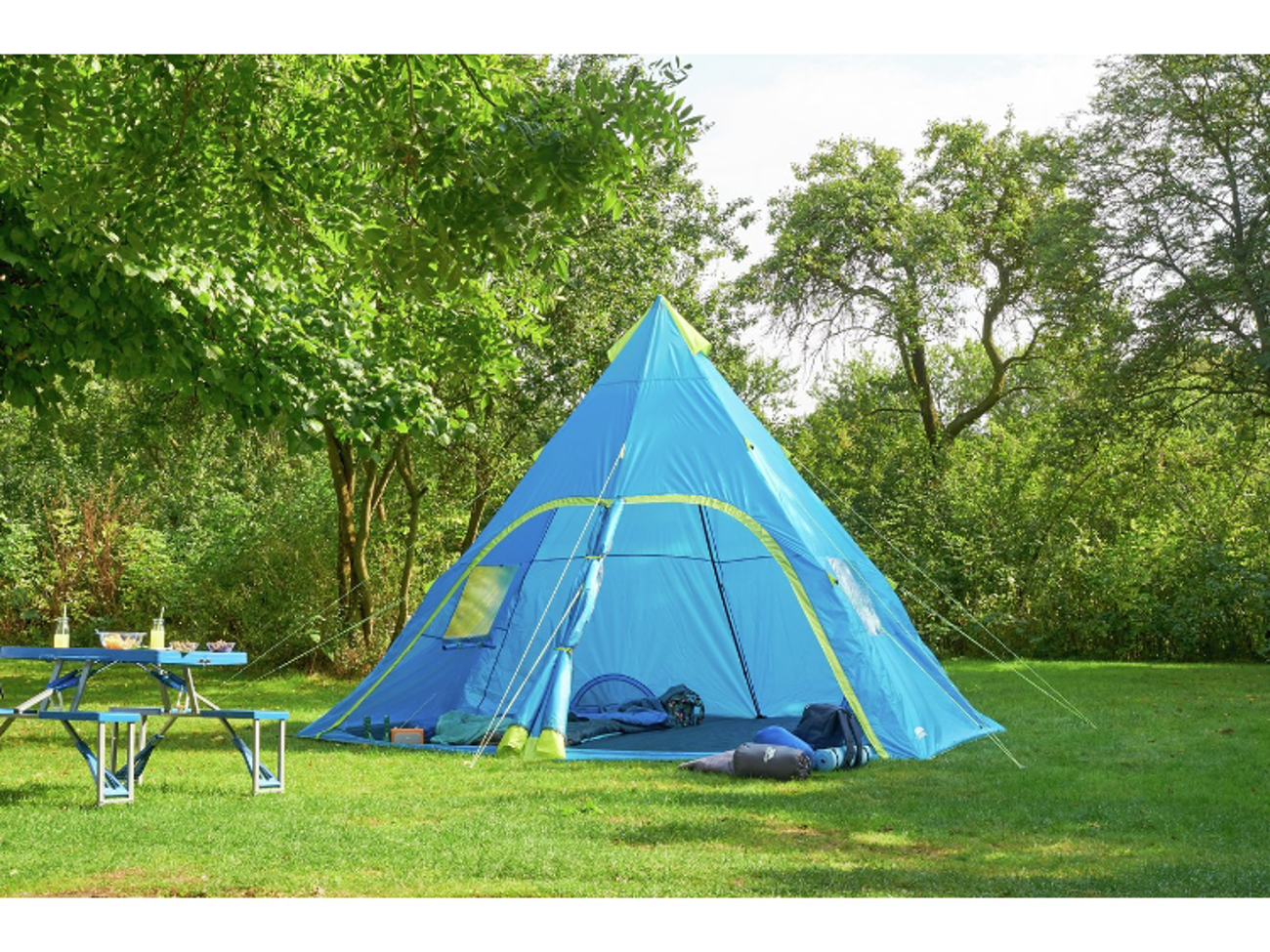 hot sale online 664c0 6e016 6 Man TeePee Tent