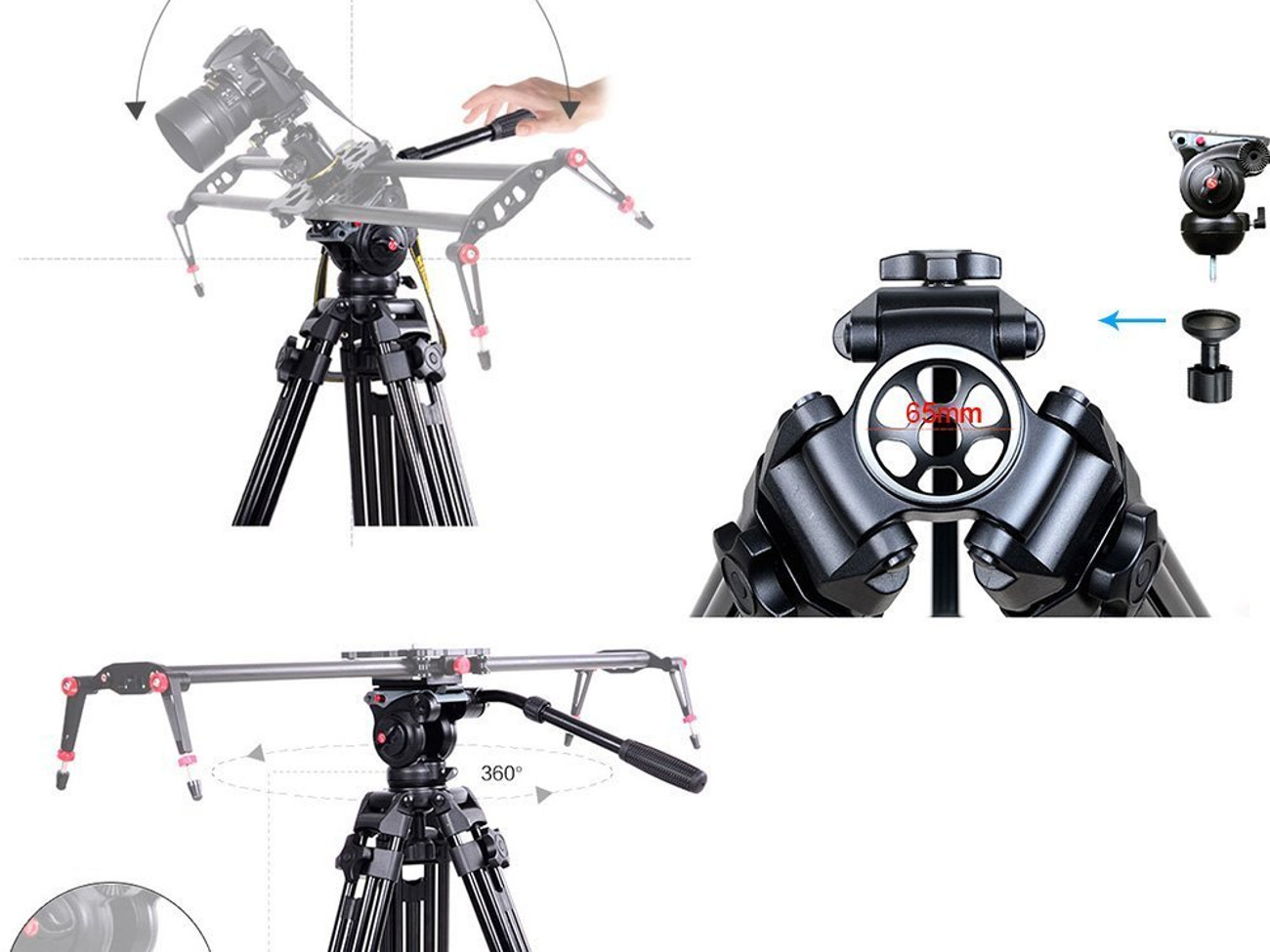for Leica X1 Bubble Level Professional Dual Handle Aluminum 67 Tripod