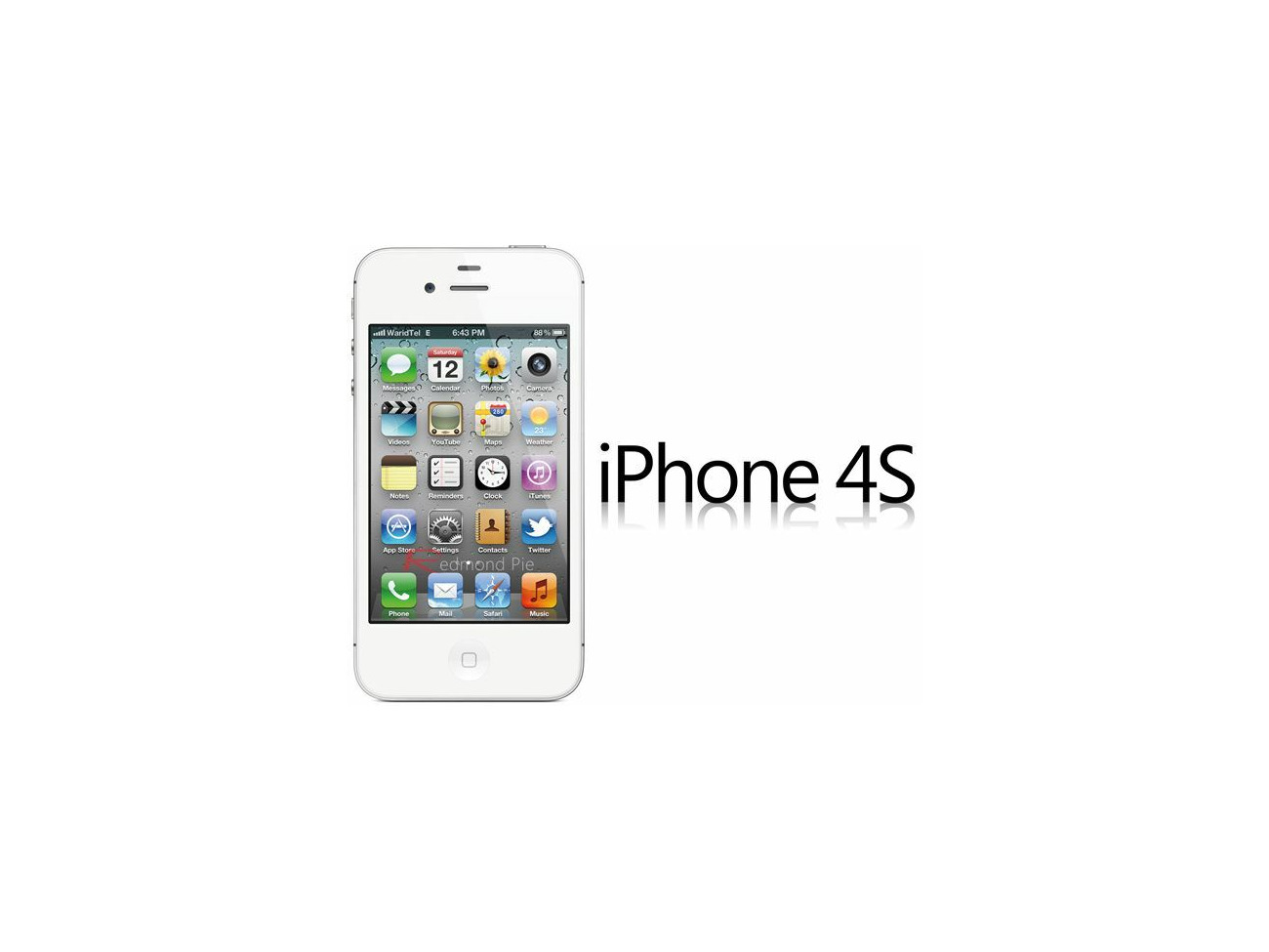 Buy Apple iPhone 4S 8GB Smartphone unlocked (white/Black) | Fat Llama