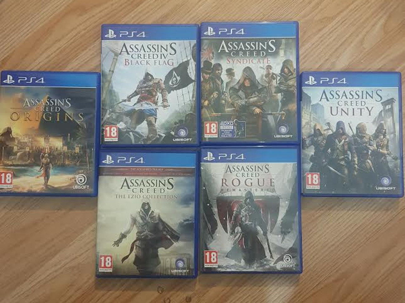 Rent Assassins Creed Collection For Ps4 In London Rent For 18 00