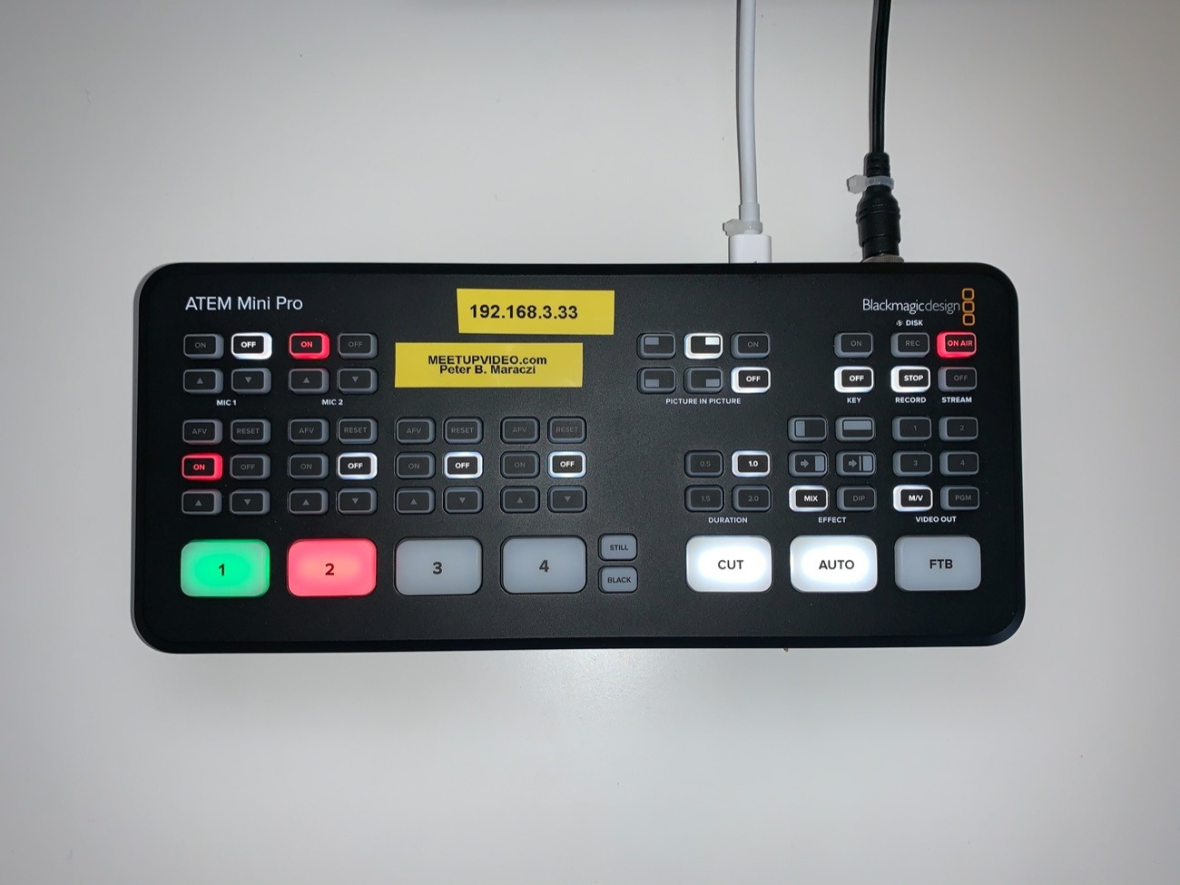 Rent Atem Mini Pro Hdmi Live Stream Switcher And Recorder Blackmagic Design In Croydon Rent For 26 00 Day 24 00 Week