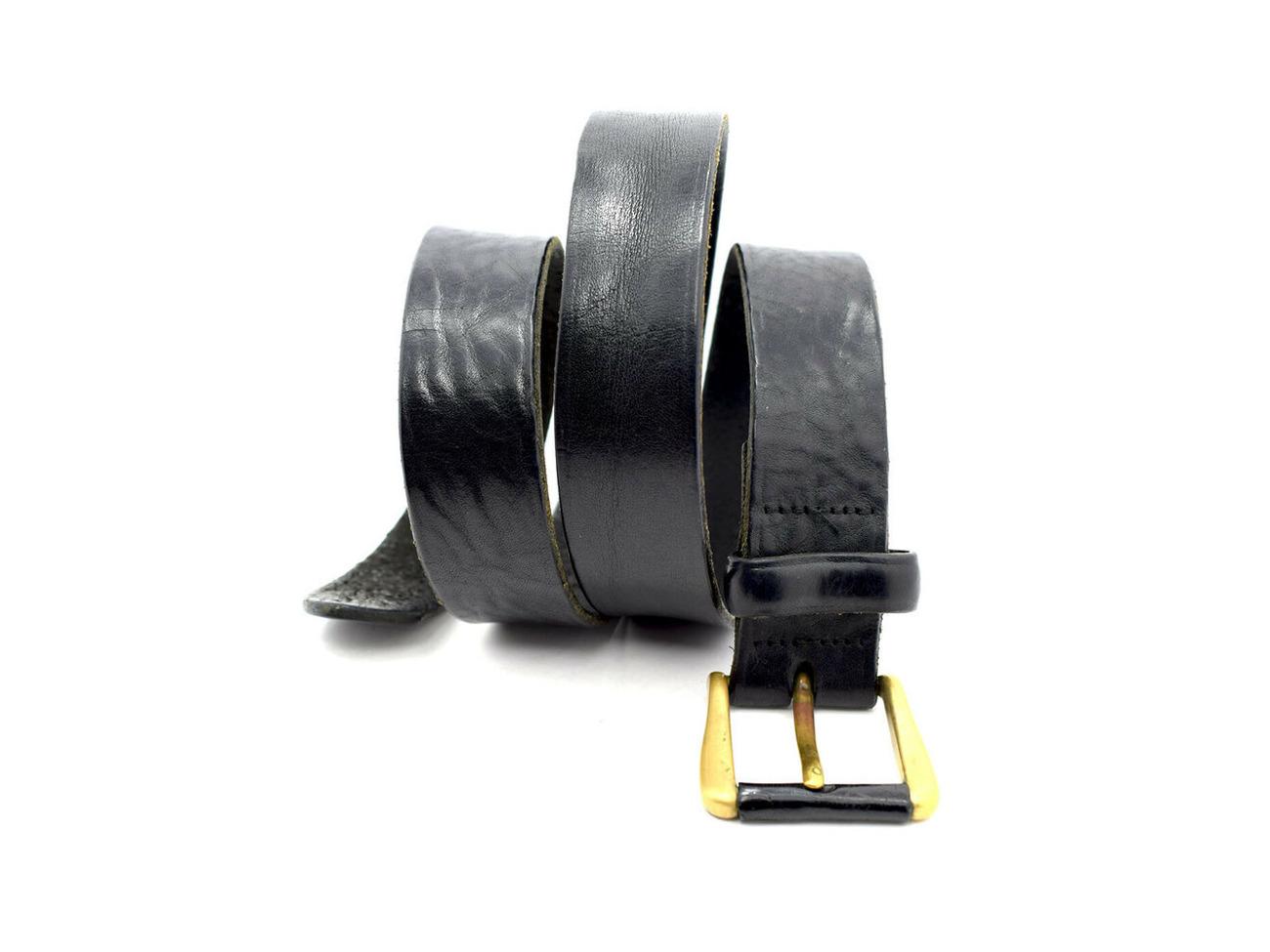Rent Austin Reed Vintage Mens Leather Belt Black Size 34 In London Rent For 0 00 Day