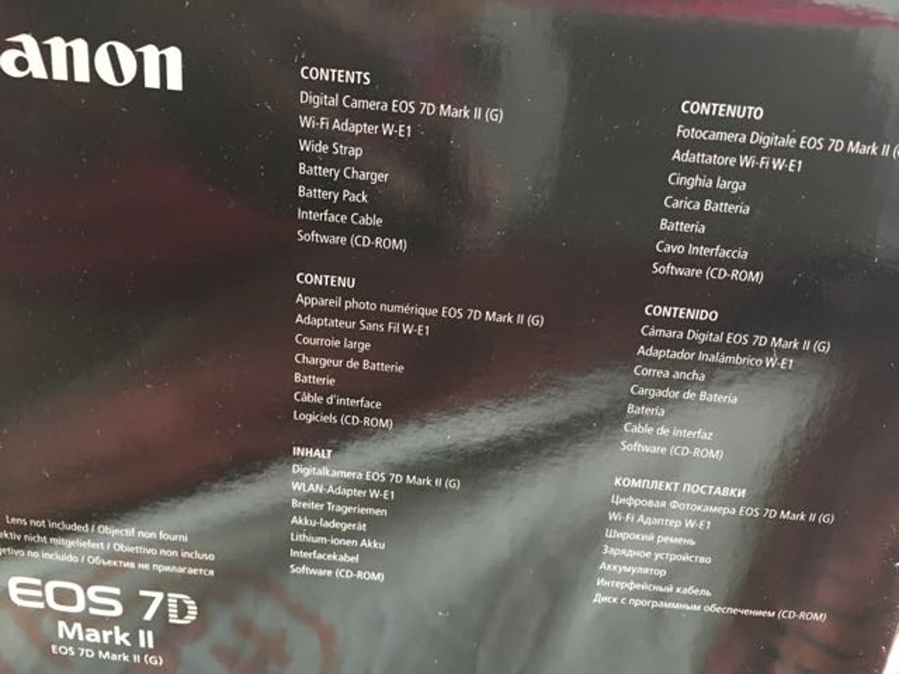 Buy Canon 7D Mark II Body Only | Fat Llama