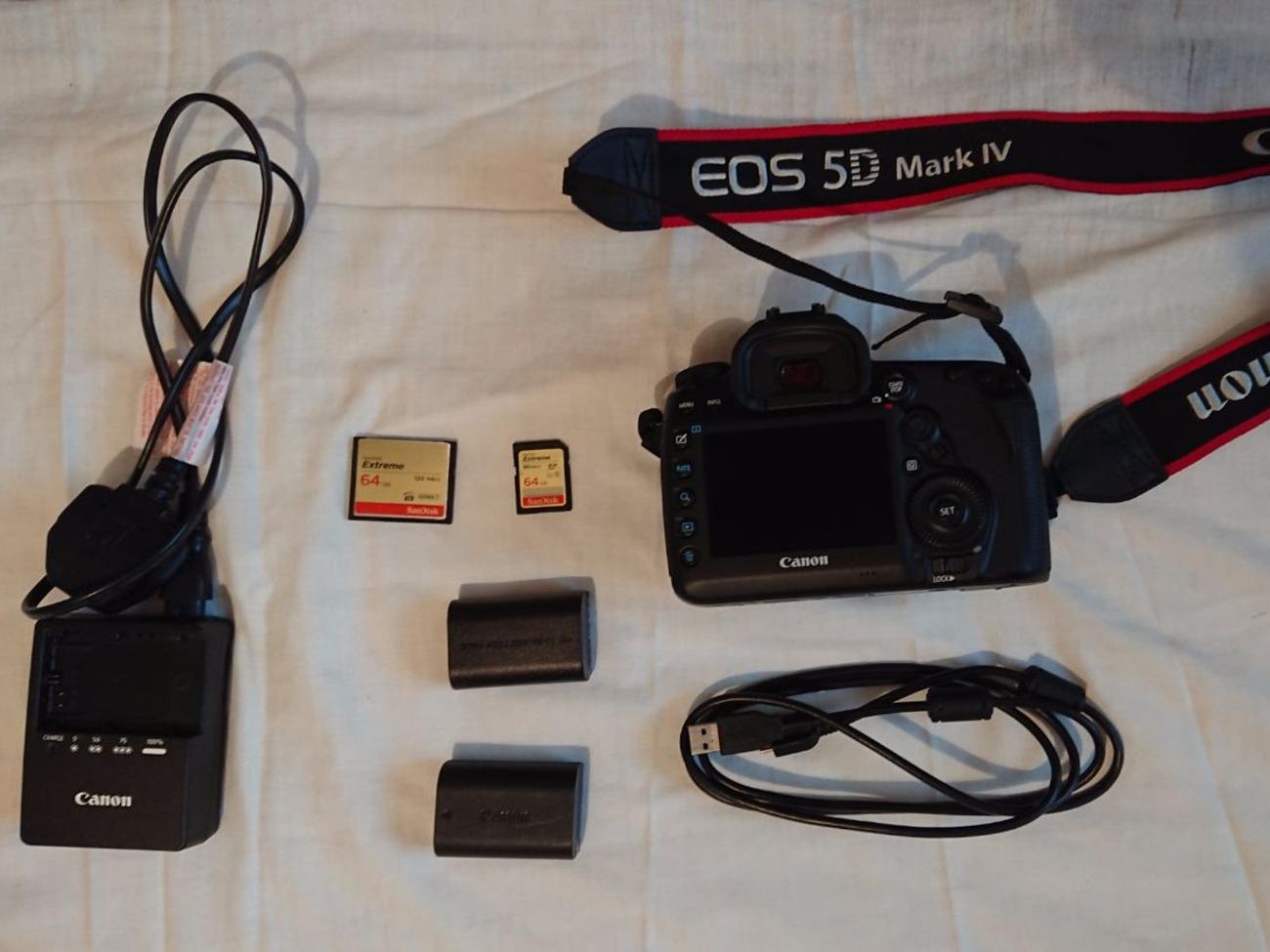 [Best Offer] Canon 5D Mark IV DSLR Camera
