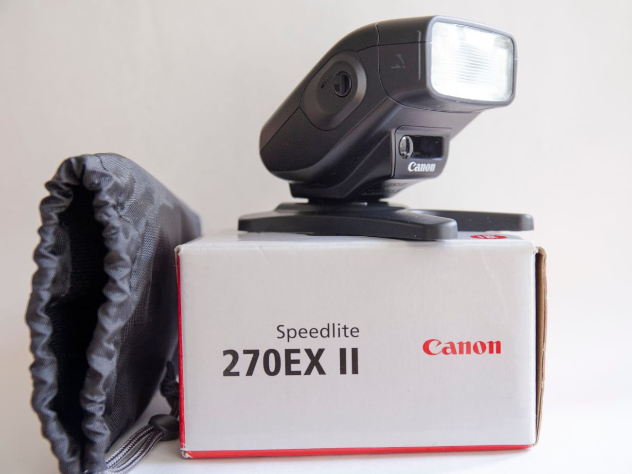 Canon EOS 6D with 24-70 mm lens and accessories