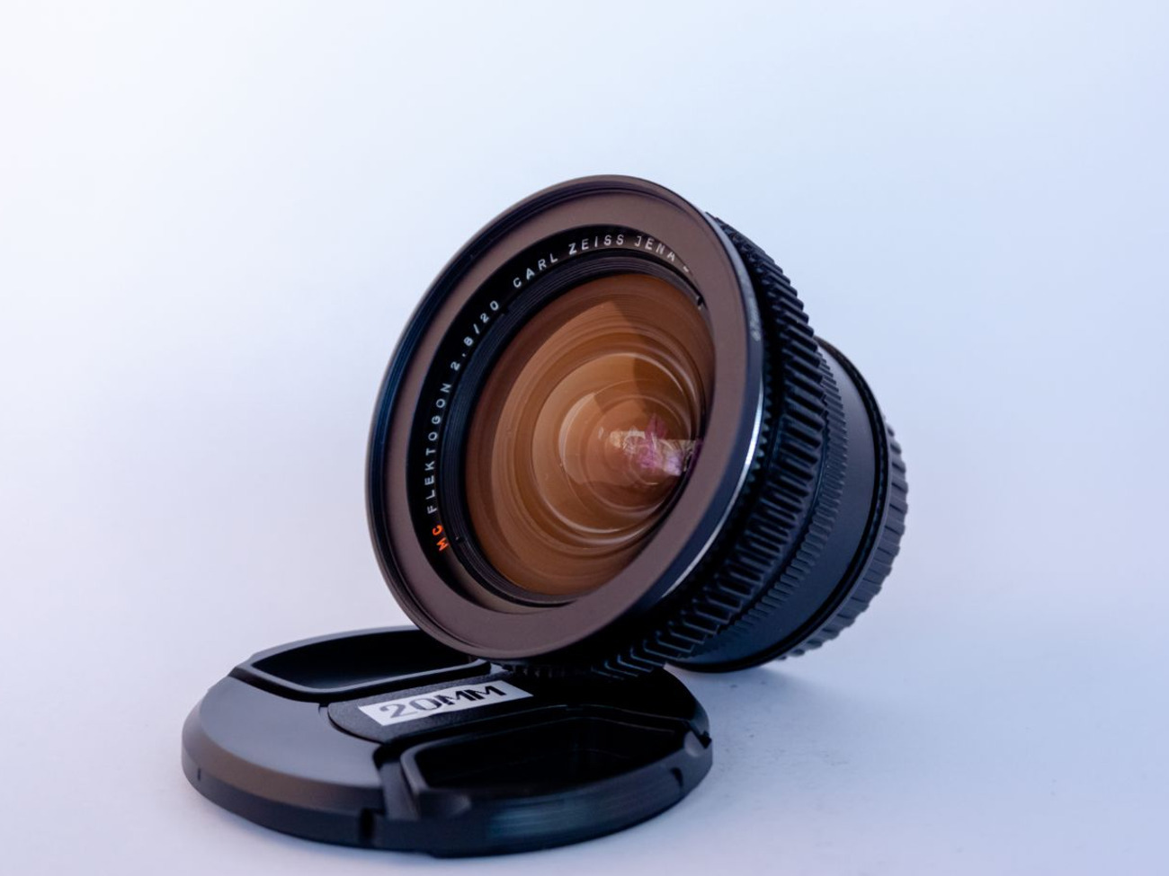 Carl Zeiss Jena lens set - EF Mount