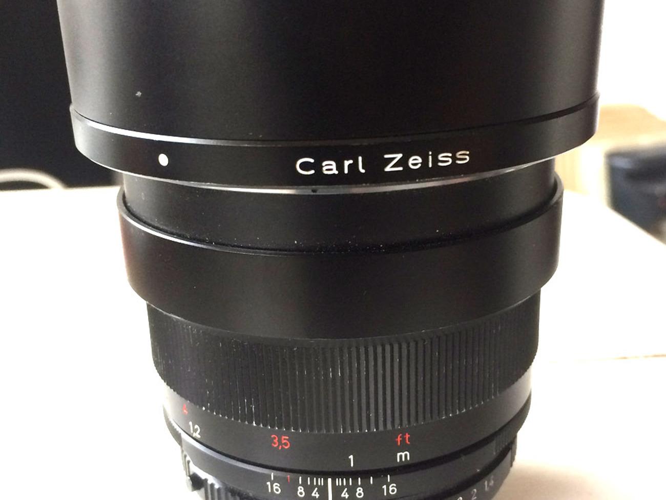 CARL ZEISS LENSE FOR NIKON 85 mm F/ 1 4 VIDEO LENSES