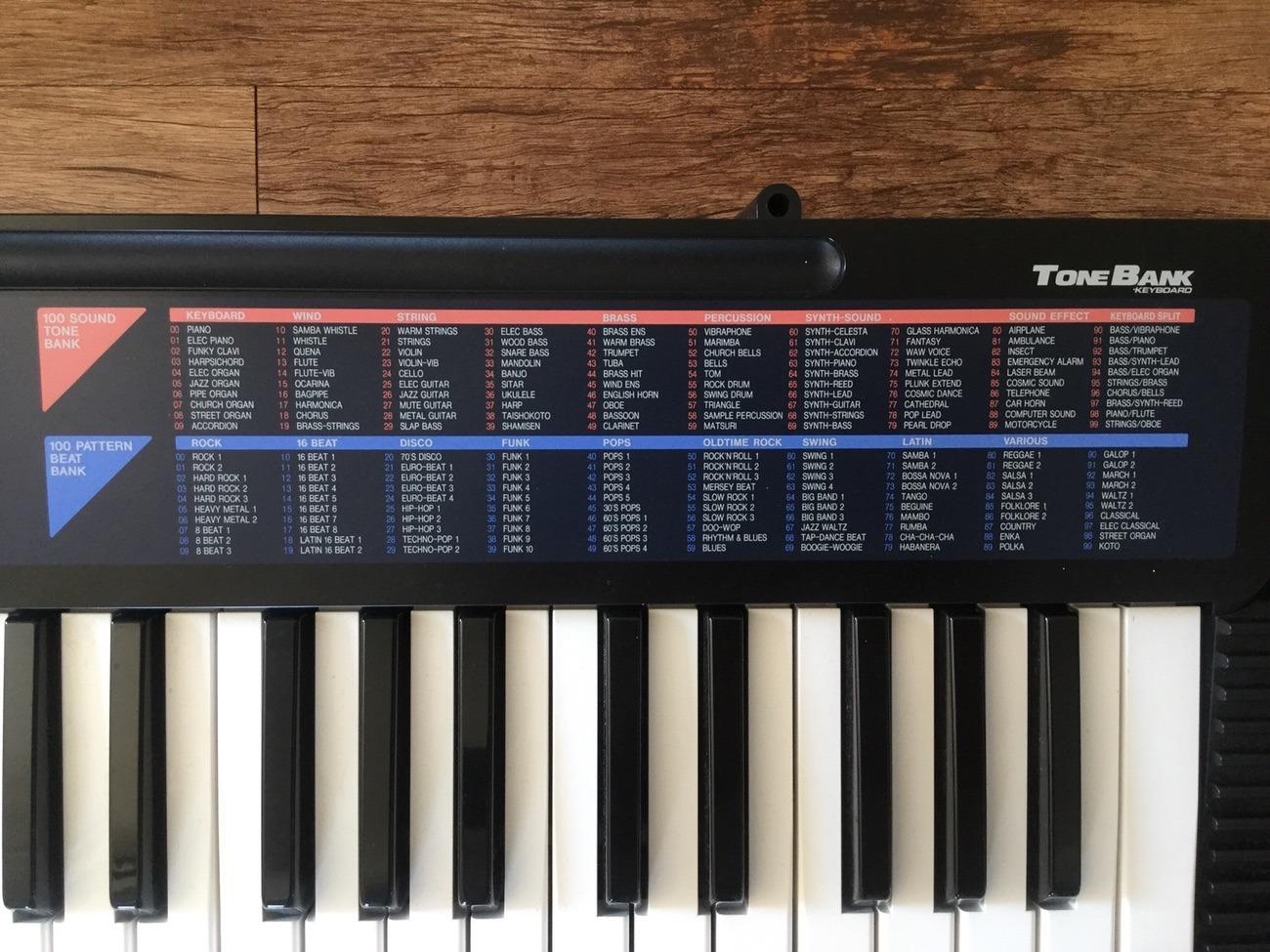 Casio CA-110 Tone Bank Keyboard