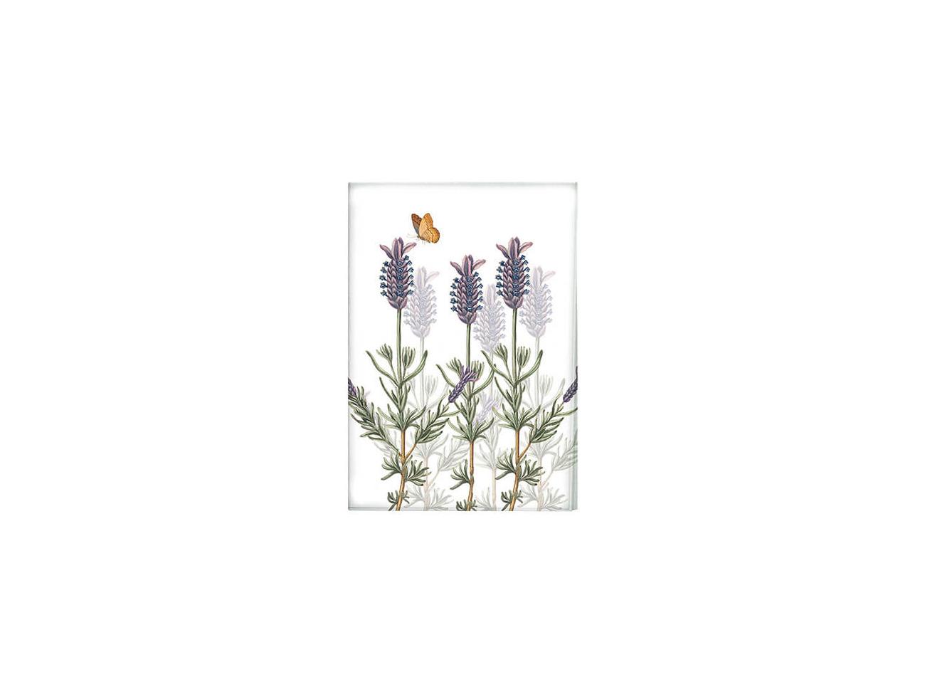 "Kew ""Lavender"" Large Melamine Serving Tray By Creativ Royal Botanic Gardens"