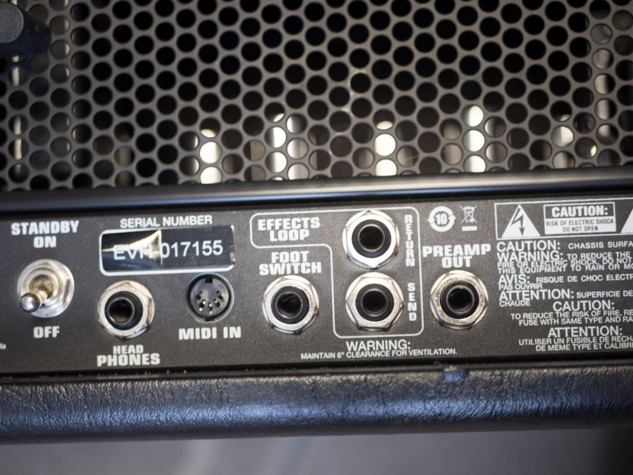 Fender Peavey 5150 EVH 50w mini Guitar Head Rock Metal