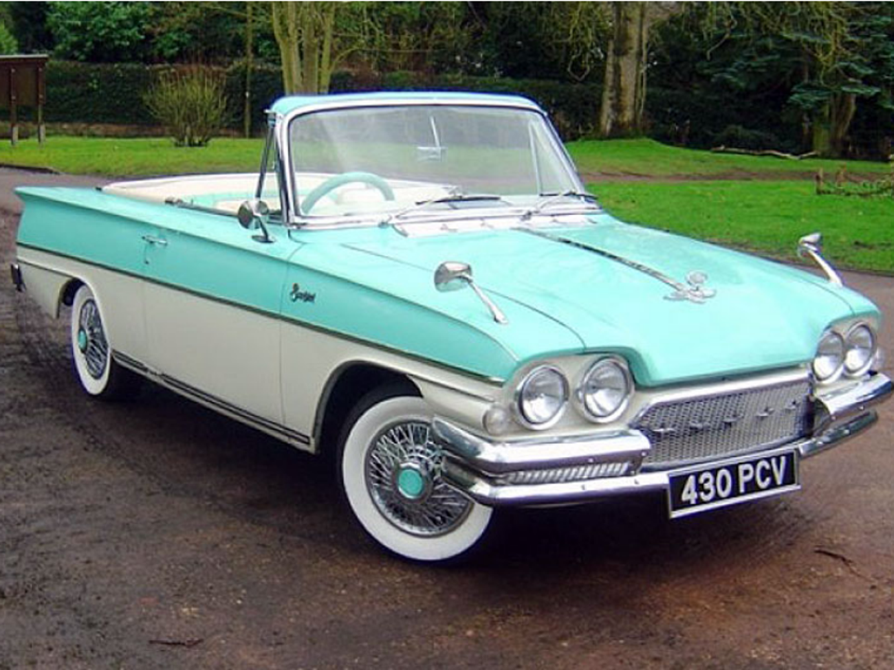 Rent Ford Consul Capri Convertible 1962 In Potters Bar Rent For 250 00 Day 178 57 Week