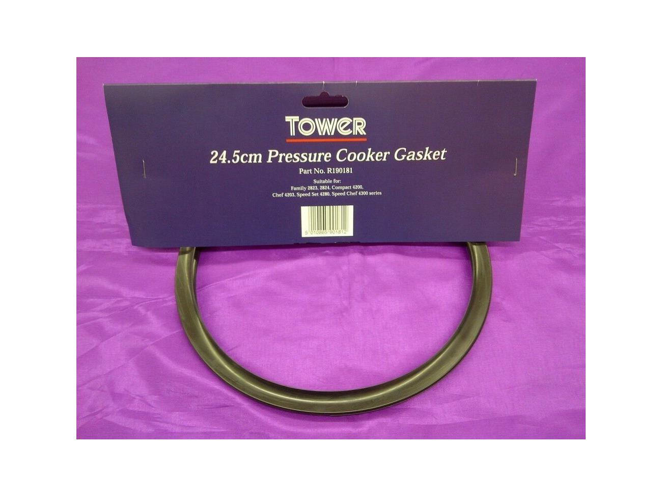 Prestige Tower Russell Hobbs Pressure Cooker Seal Gasket 24.5cm Outer Diameter