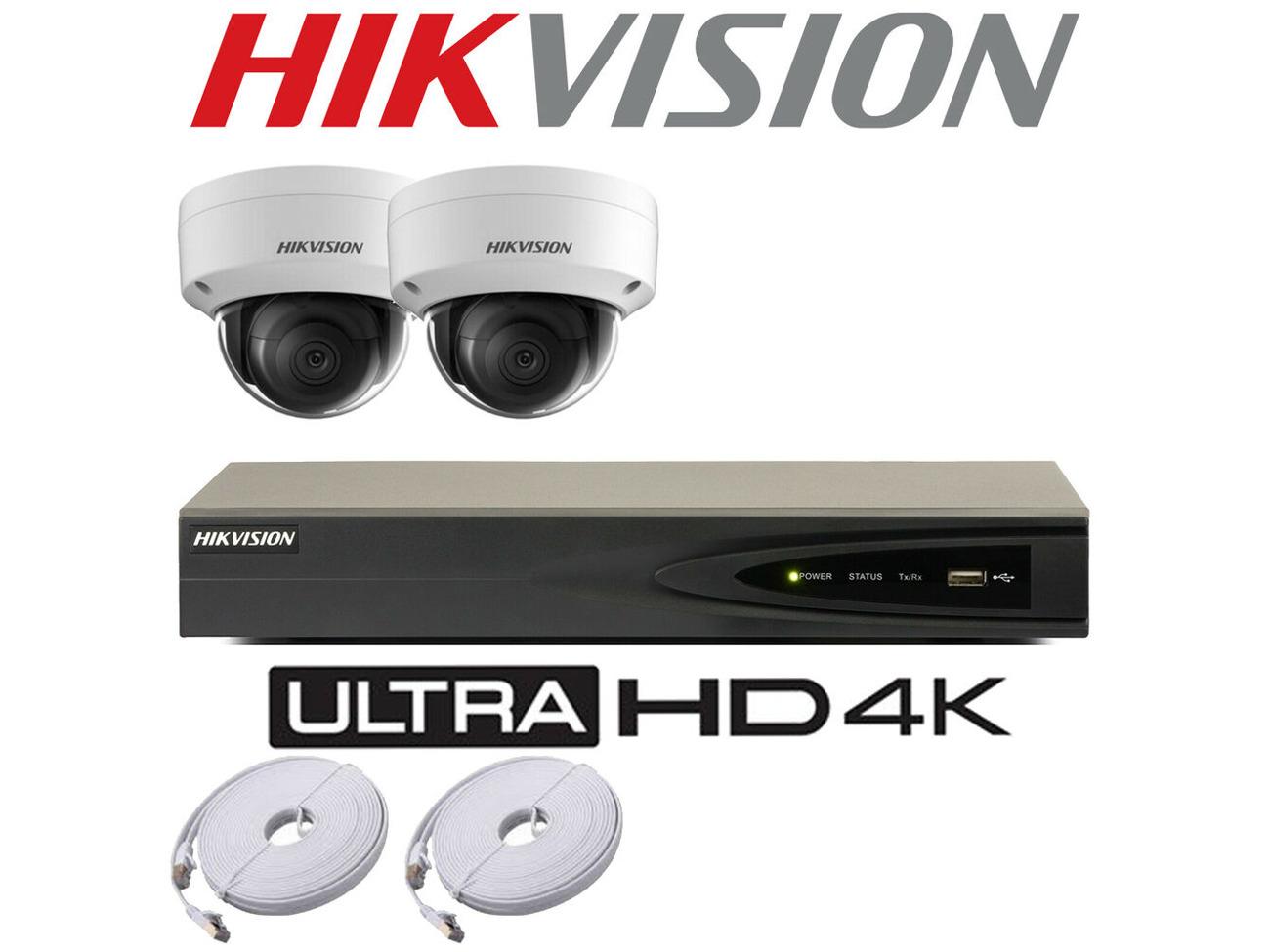 Buy HIKVISION 5MP IP POE SYSTEM 4K UHD 4CH CHANNEL NVR CCTV