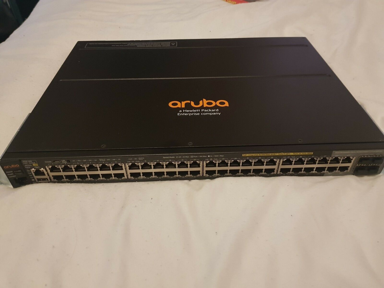 HP Aruba 2920 48-Port Managed PoE+ 740W Stackable Network Sw
