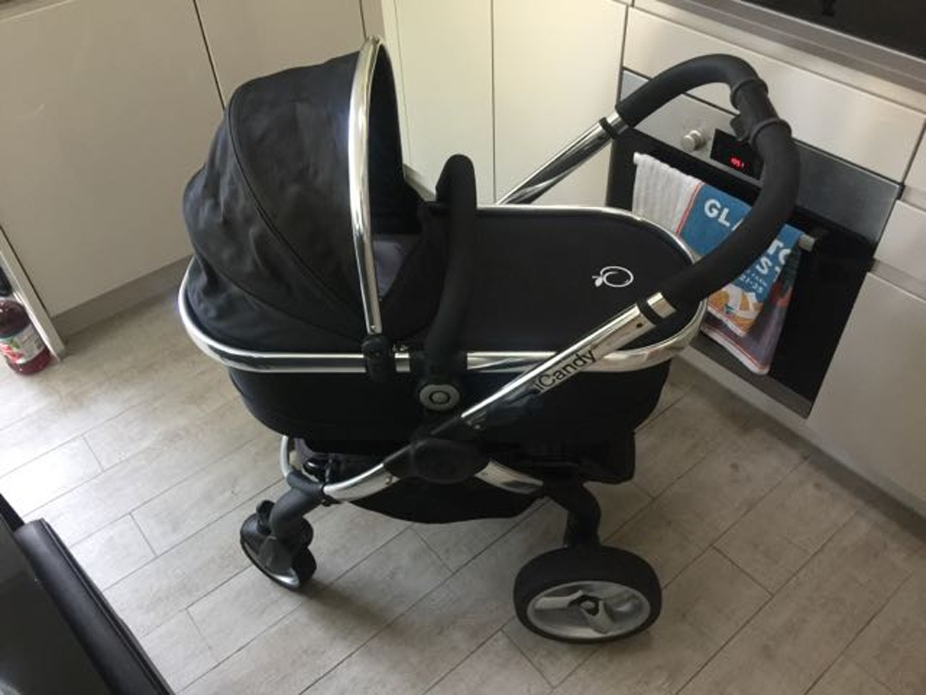 Icandy 3 In 1 Travel System Maxi Cosi Car Seat