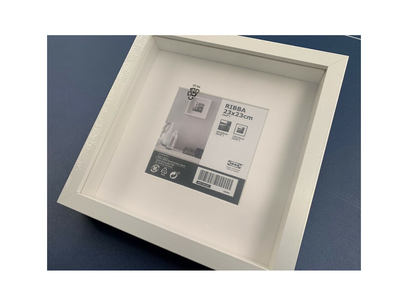 Ikea Ribba 23x23cm 9x9in Wooden Square