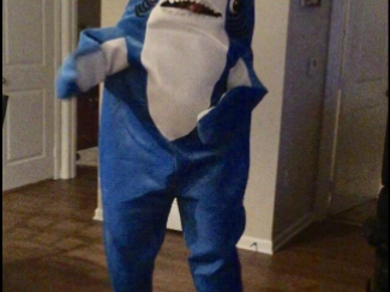 Katy Perry Left Shark Funny Cosplay Mascot Costume