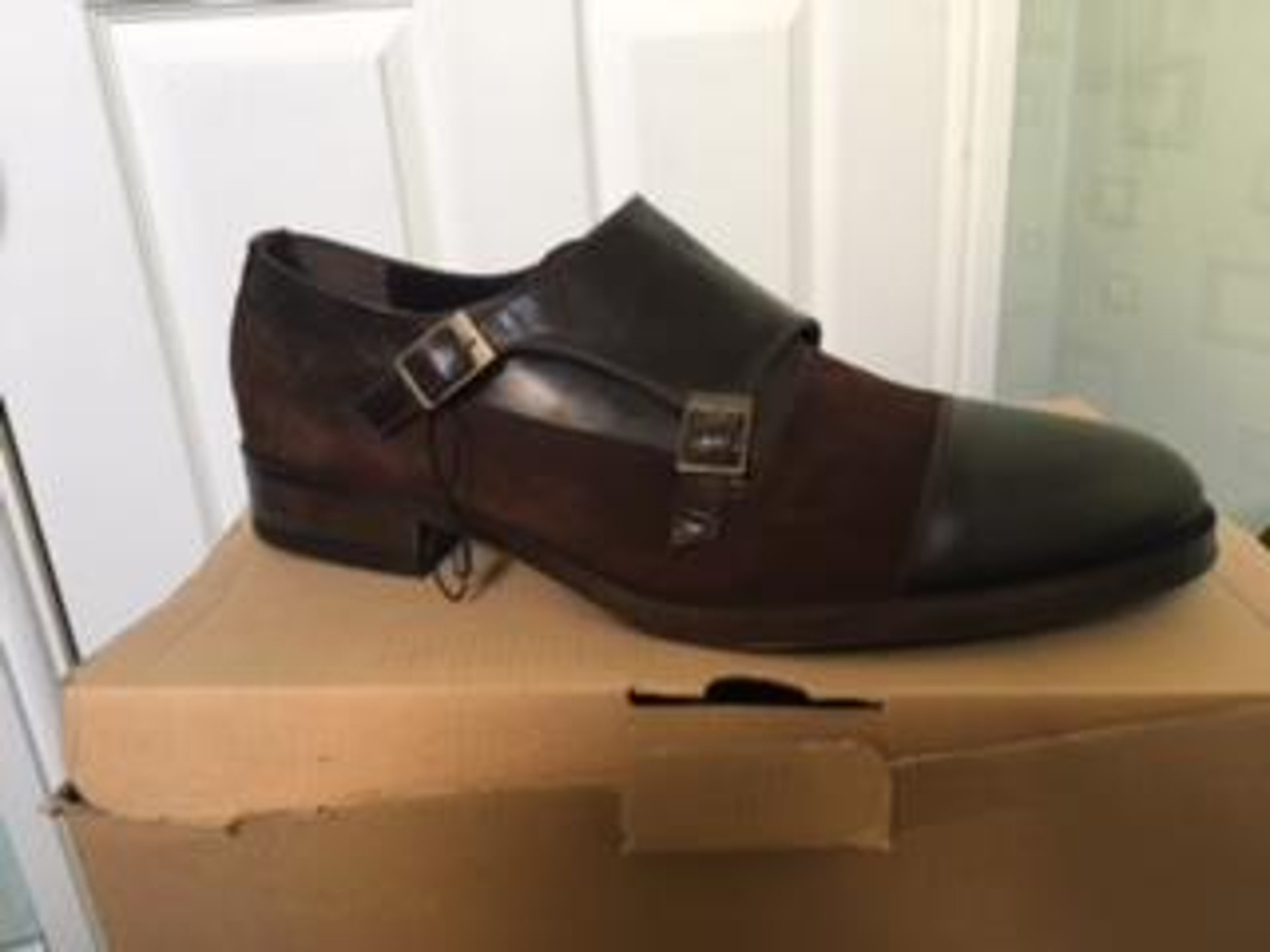 b6aef2af Buy Mens Zara Double Monk Shoes For Sale   Fat Llama