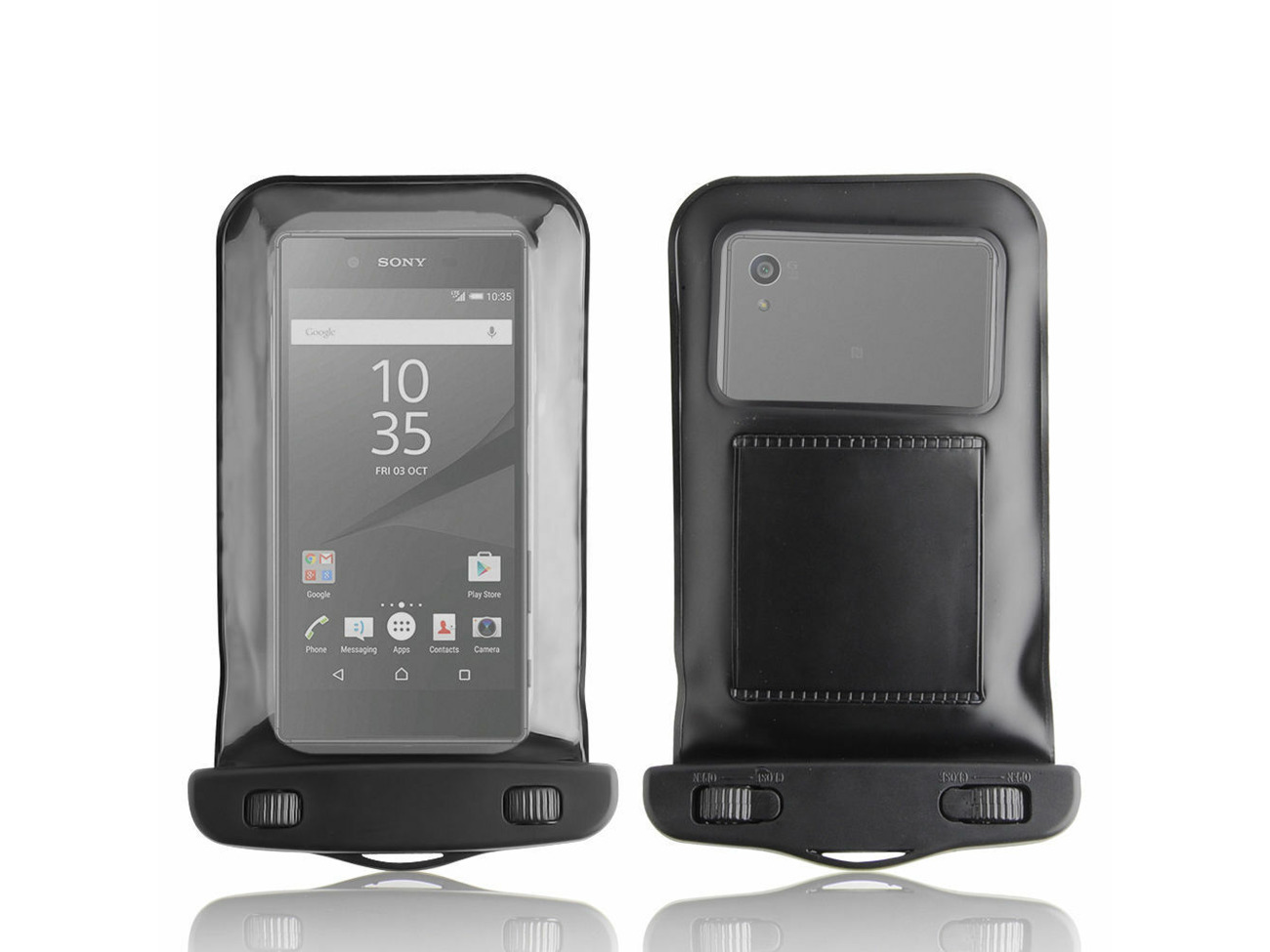 newest 040e0 0446e NEW SAND WATERPROOF CASE COVER BAG DRY POUCH FOR SONY XPERIA Z5 PREMIUM 2015