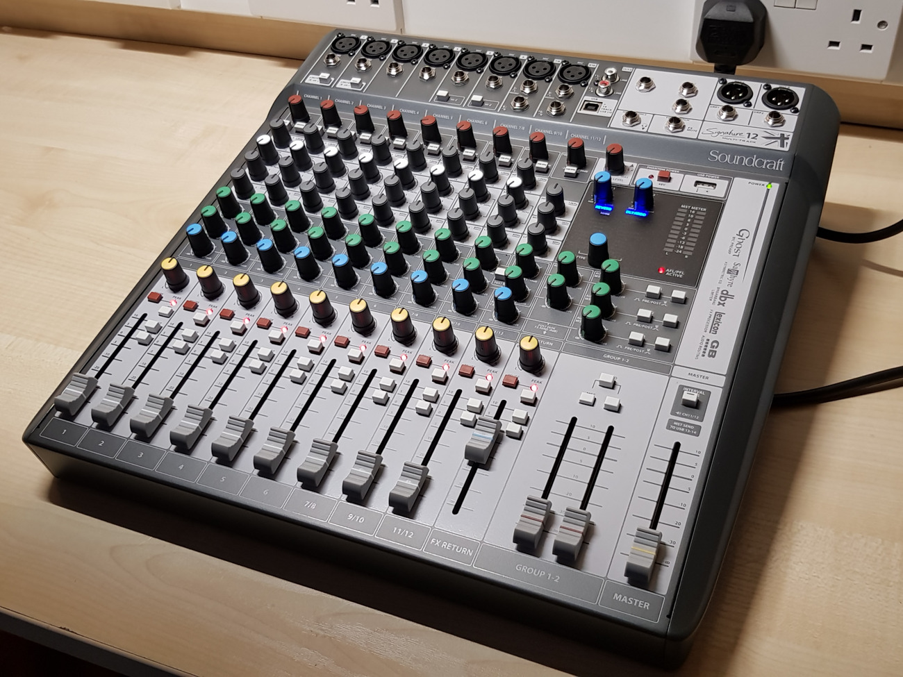 NEW Soundcraft Signature 12 Multitrack Mixing Desk