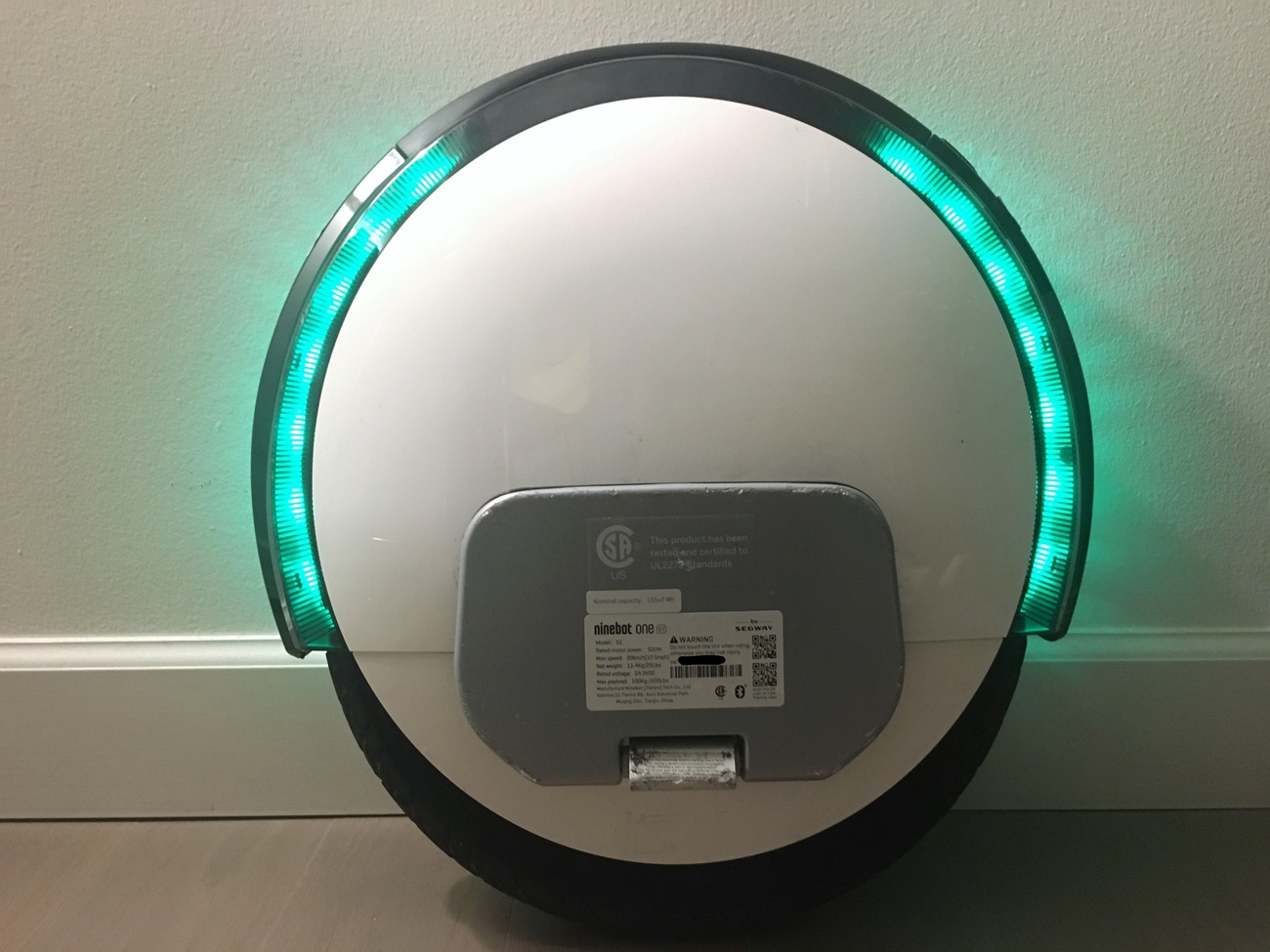 Ninebot One S2 Electric Unicycle