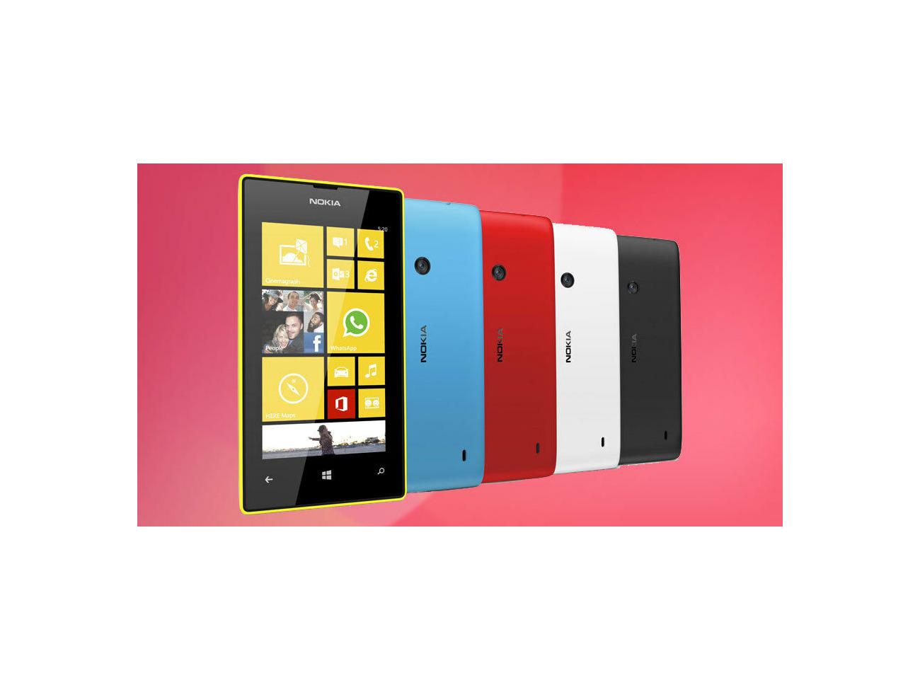Buy Nokia Lumia 520 - 8GB - unlock Smartphone | Fat Llama