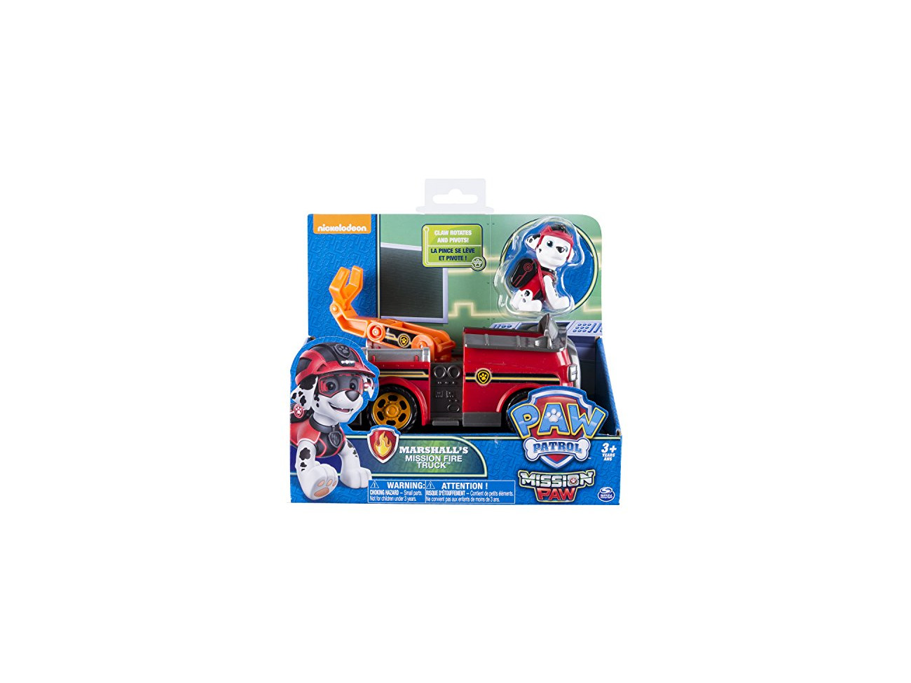 Paw Patrol 6037967 Paw Vehicle Marshalls Mission Fire Truck