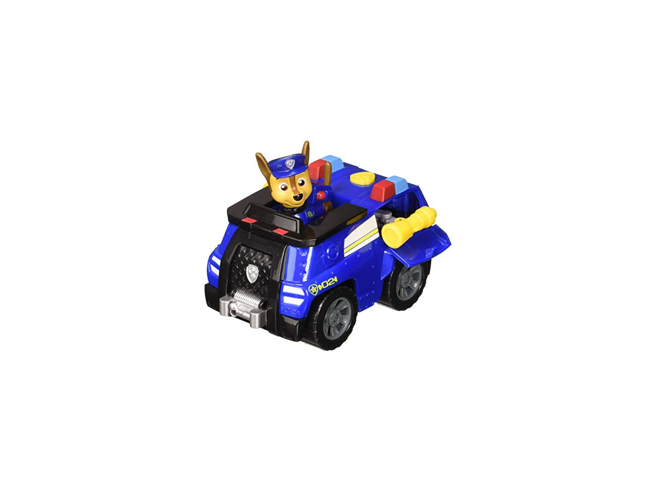 for Ages 3 and Up Paw Patrol Chase/'s Transforming Police Cruiser with Flip-open Megaphone
