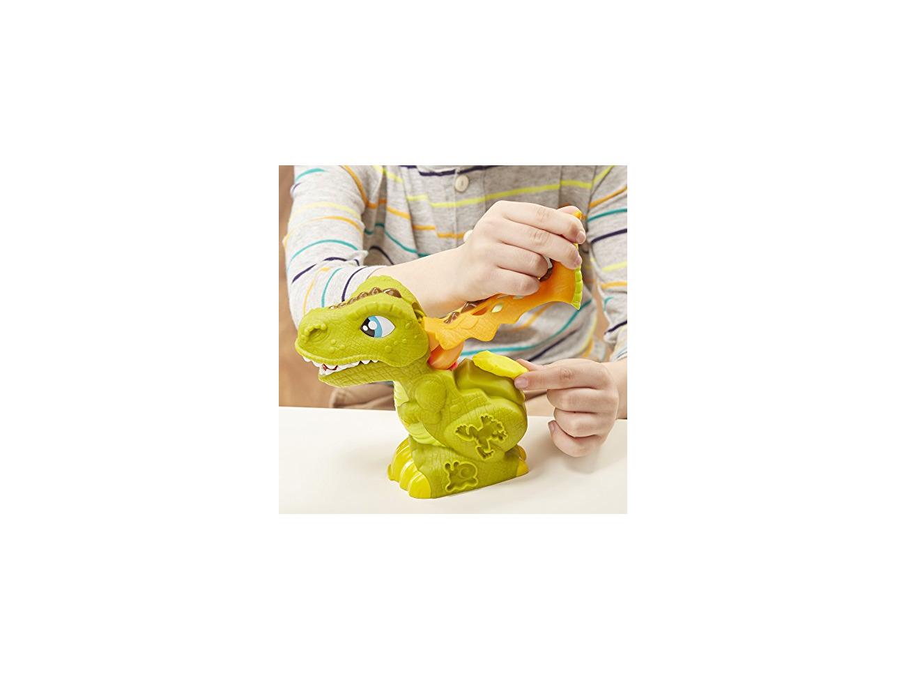 Play-Doh Rex the Chomper Dinosaur with 4 tubs E1952
