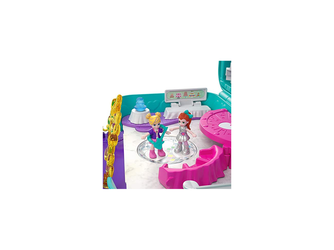 "Polly Pocket FRY41/"" Hidden Places Dance par-taay Case Playset"