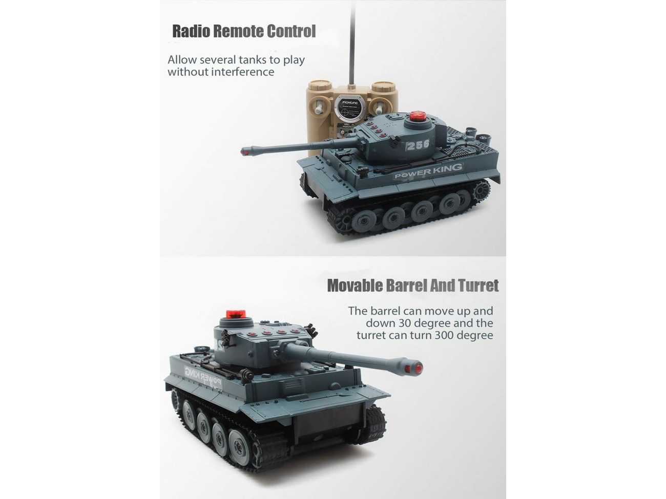 Radio Control Infra Red RC Army War Model Battle Fighting Tanks