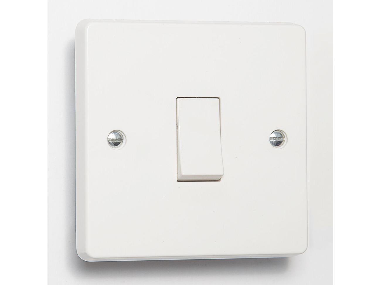 Joke Fire Break Glass Light Switch Sticker skin for Crabtree 4070 1 Way 1 Gang by stika.co