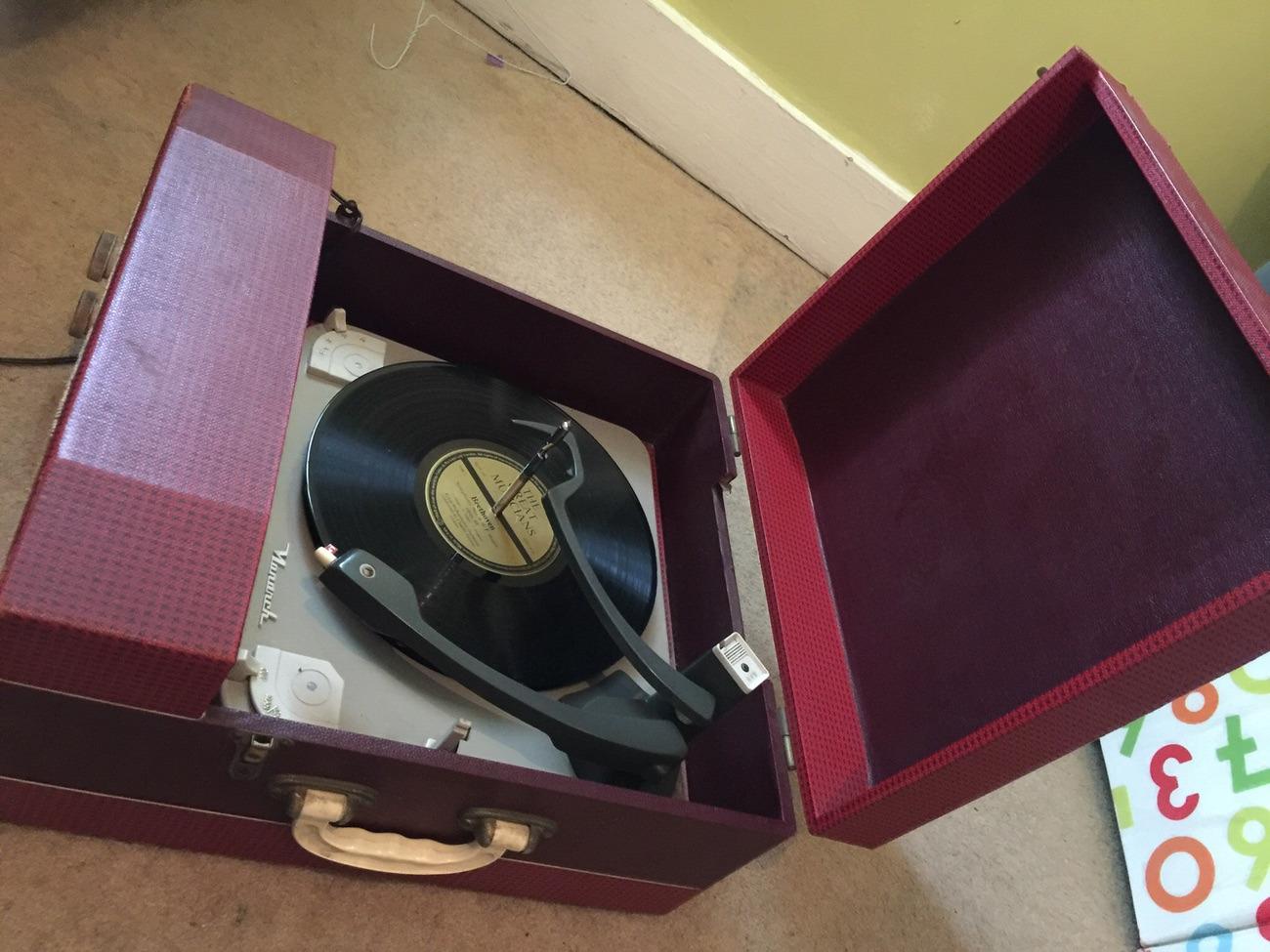 Retro vintage Record Player