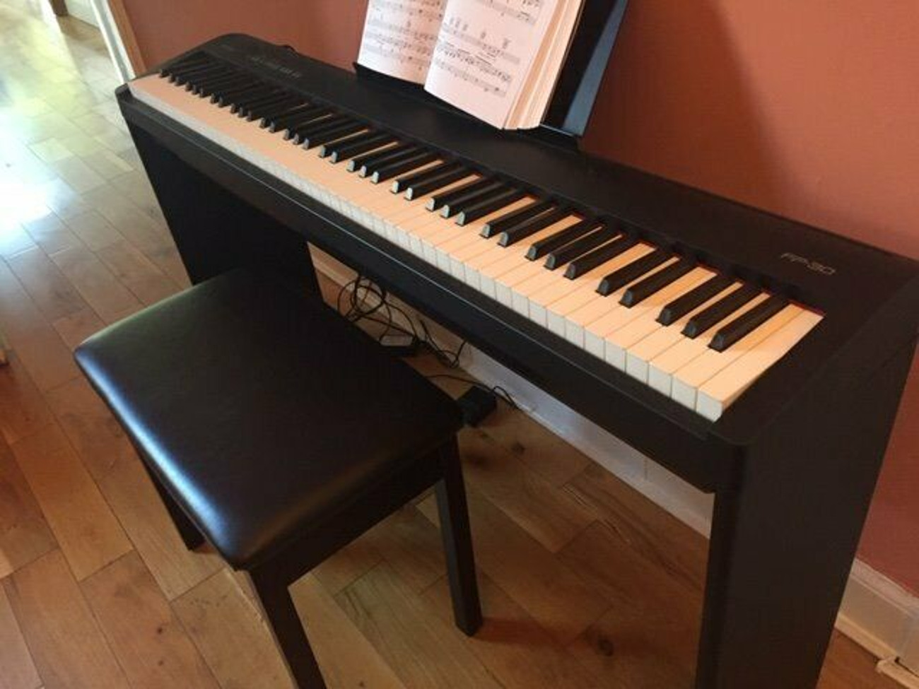 Rent Roland Fp 30 Digital Piano With Stand In Glasgow Rent For 0 00 Day