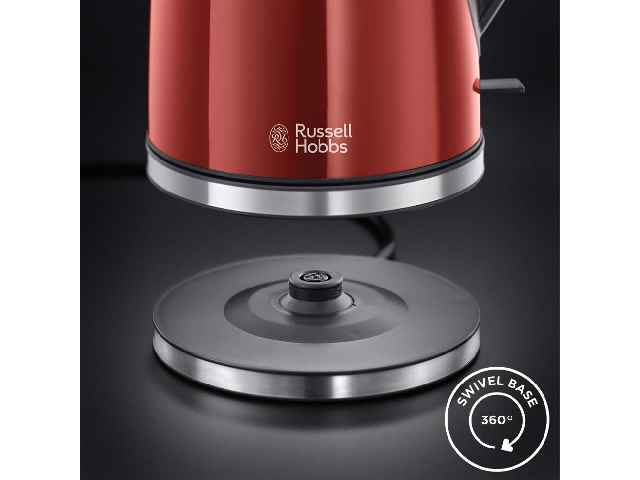 RUSSELL HOBBS 21401 Mode Kettle, Red