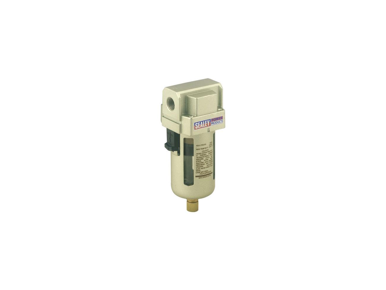 Sealey SA106FR Air Filter//Regulator Max Airflow 70cfm