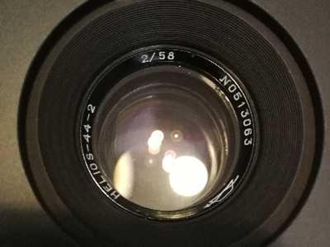 Set of 5 Vintage Soviet Helios Flare Lenses Canon EF Cine