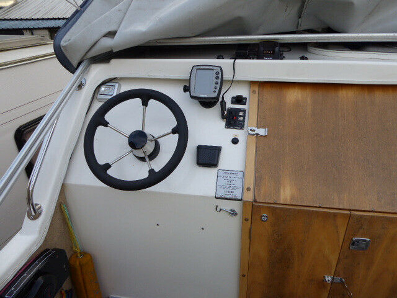 Buy Shetland Four Plus Two Motor Cruiser (2008), Mercury