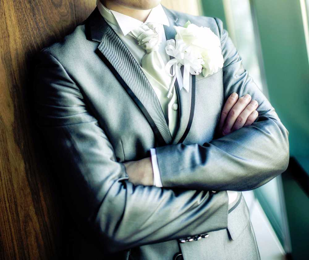 Rent Silver Three Piece Wedding Suit Rrp 800 Worn Once In Sidcup Rent For 50 00 Day