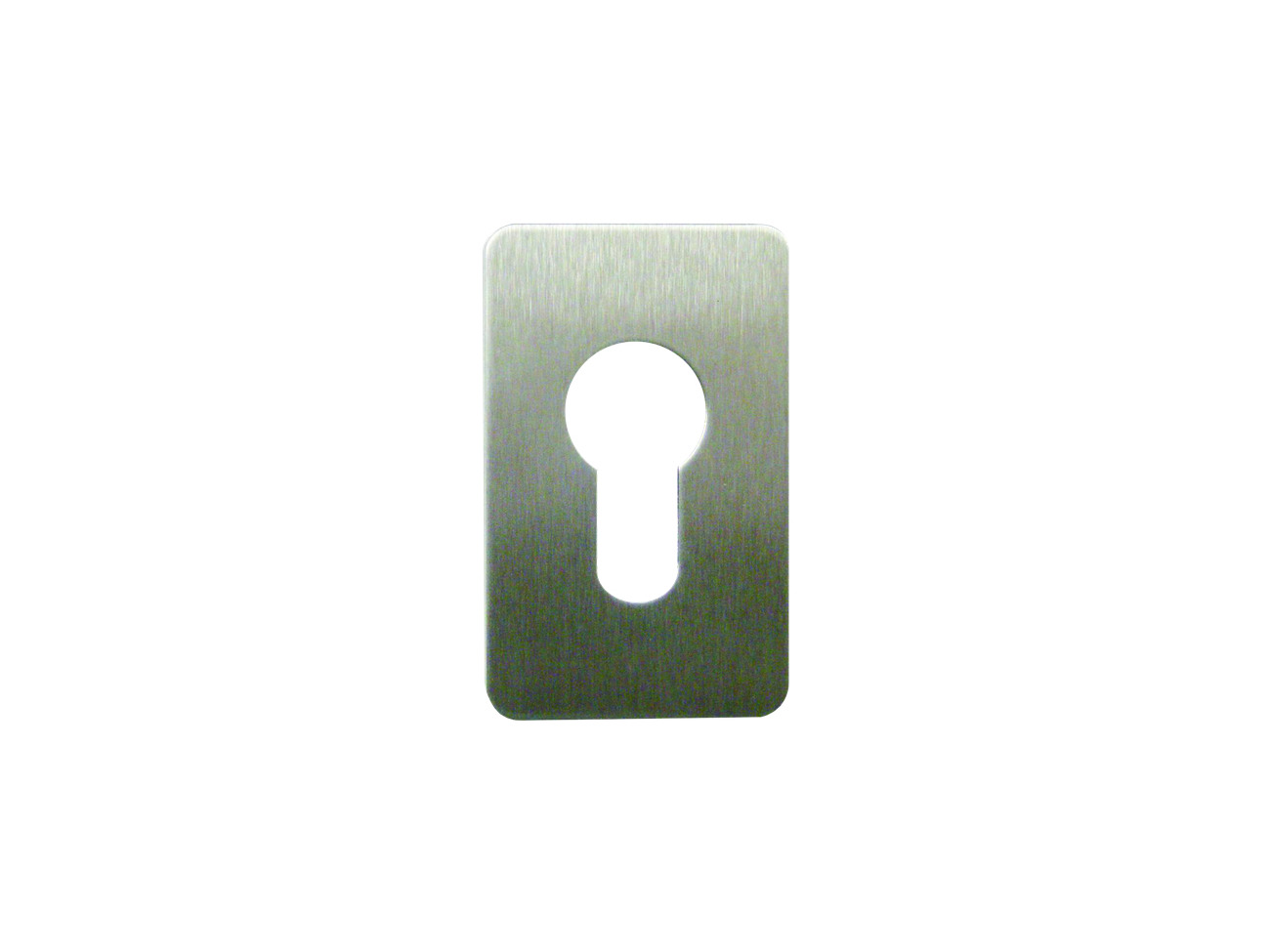 Stainless Steel SOUBER TOOLS EE3 Self Adhesive Euro Escutcheon