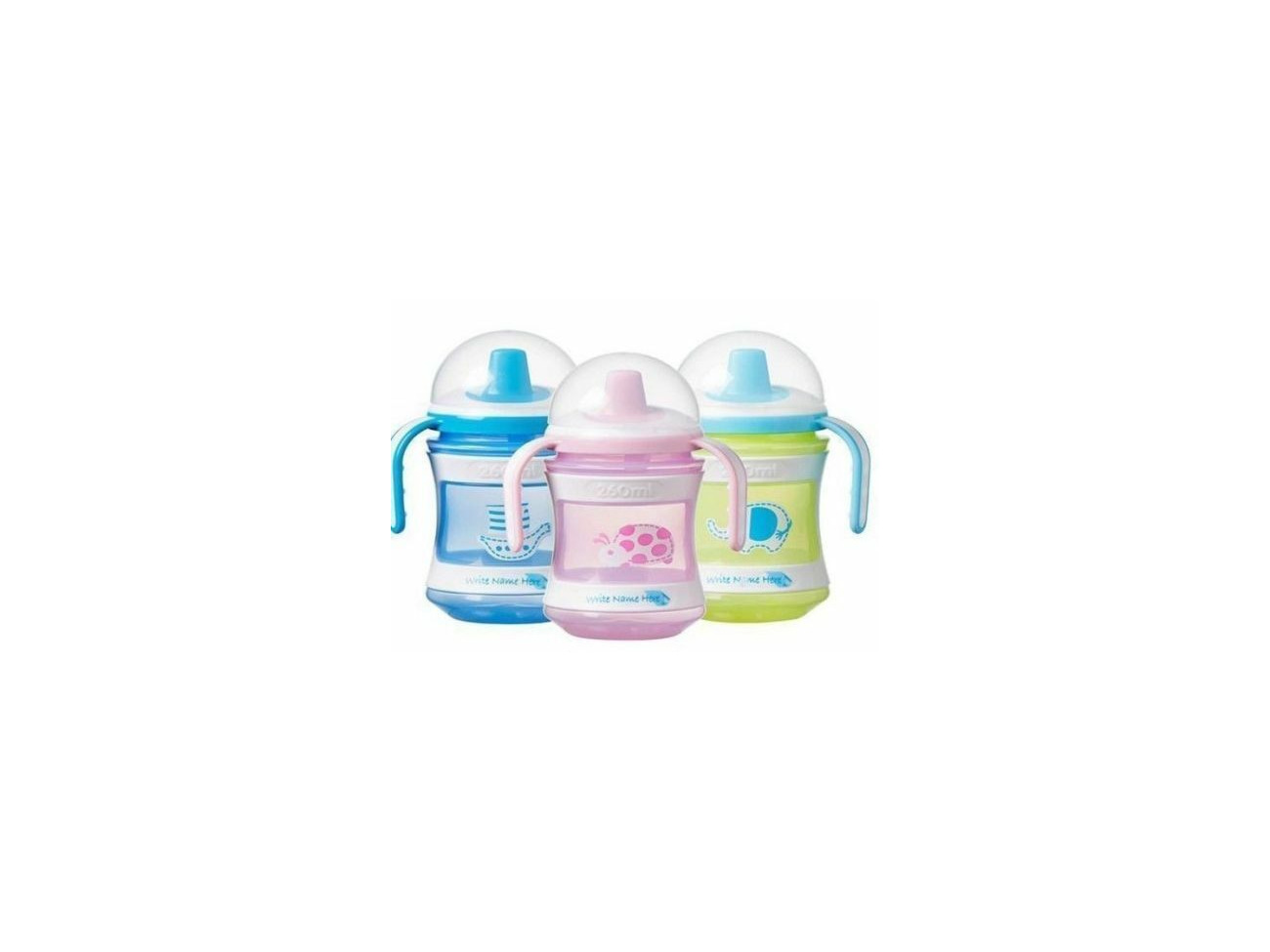2 x TOMMEE TIPPEE Pink Pear 0-6 month Anytime Silicone Orthodontic Baby Soother