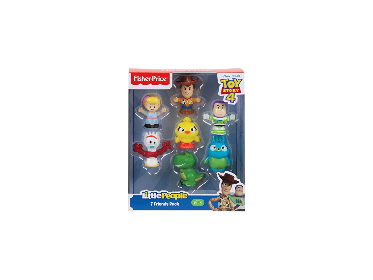 Disney GFD12 Little People Disney toy story 7-Figurine Pack