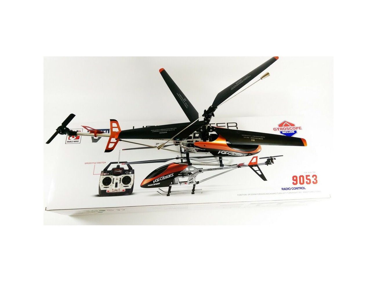 Buy VOLITATION 9053 RC RADIO REMOTE CONTROL HELICOPTER LARGE OUTDOOR