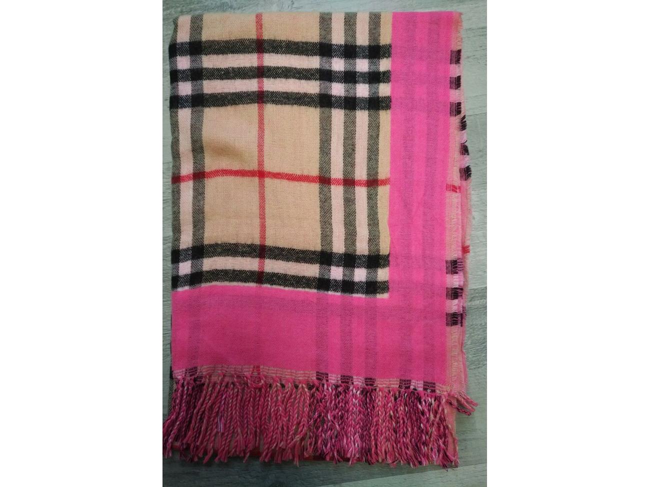 Ladies Womens Scarf Shawl Tartan Checked Plaid Wrap Neck Stole Pashmina Soft UK
