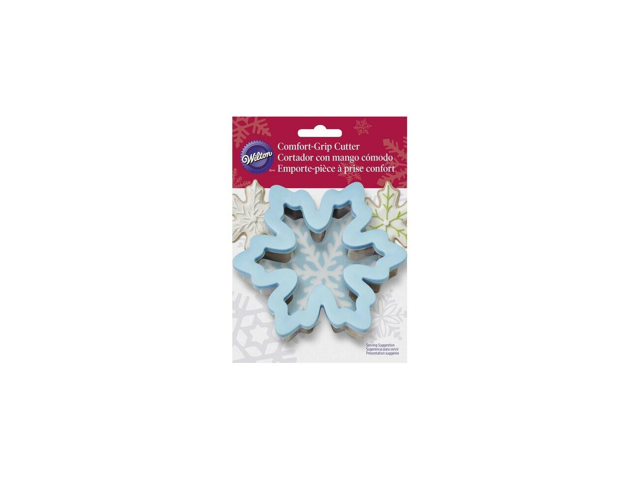 Buy Wilton Blue Snowflake Comfort Grip Gingerbread Winter Christmas