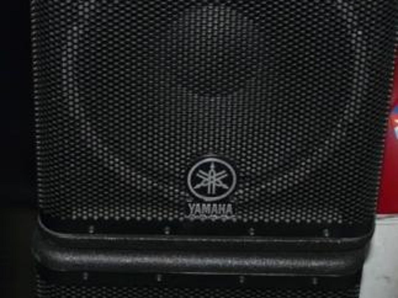 Yamaha DSR112 PA Live Sound DJ Speakers