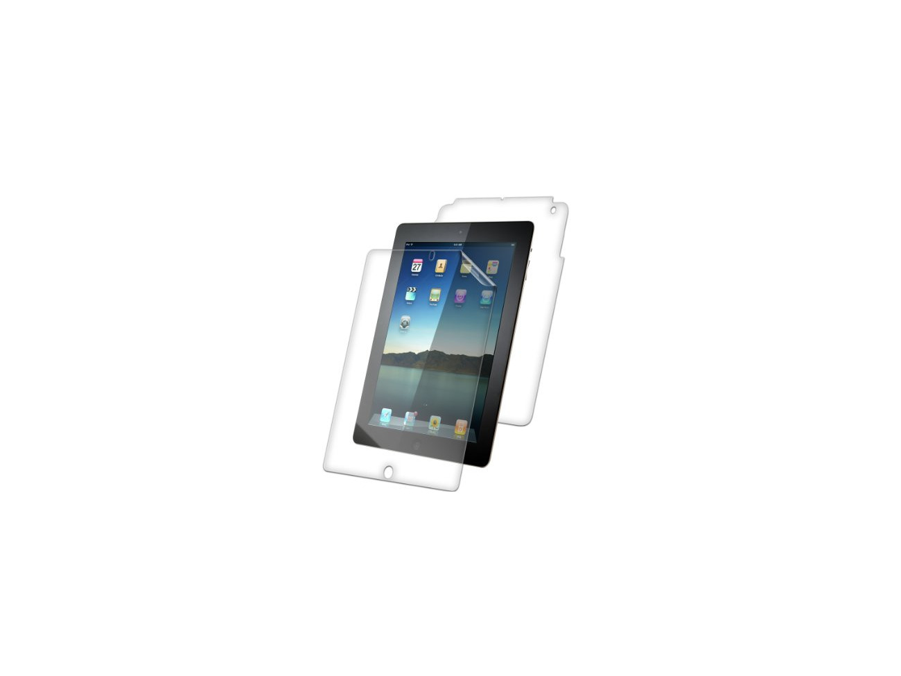 Zagg Invisibleshield Screen Protector For ipad Mini /& ipad with retina display